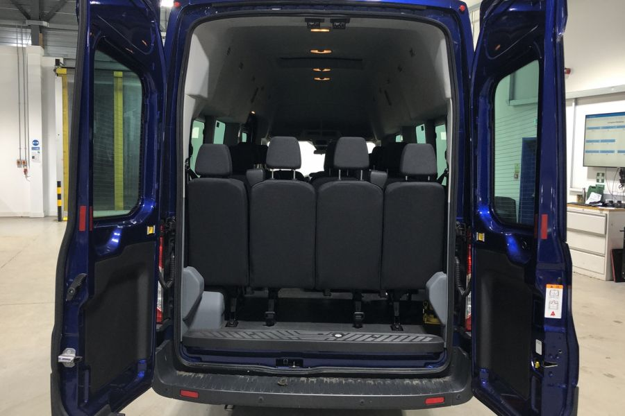 FORD TRANSIT 460 TDCI 155 L4H3 TREND 17 SEAT BUS HIGH ROOF DRW RWD - 12067 - 9