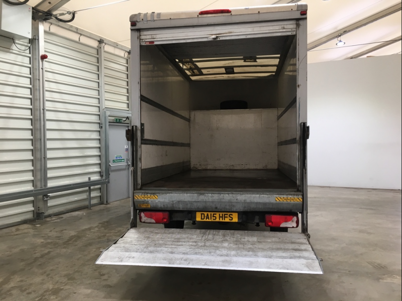 MERCEDES SPRINTER 313 CDI 129 LWB LUTON WITH TAIL LIFT - 10752 - 12
