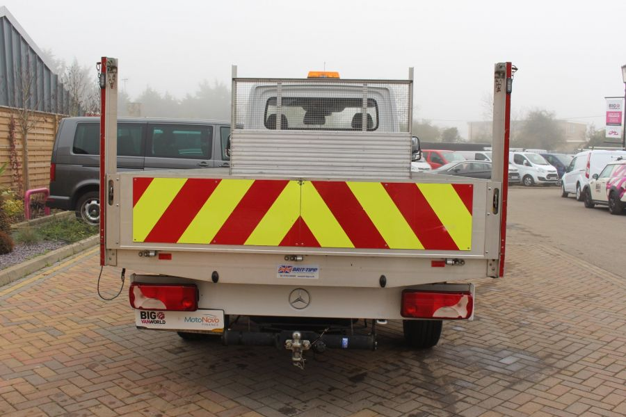 MERCEDES SPRINTER 313 CDI LWB SINGLE CAB ALLOY DROPSIDE - 6885 - 6