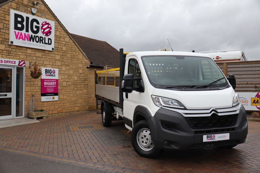 CITROEN RELAY 35 HEAVY HDI 150 ENTERPRISE L4 'ONE STOP' ALLOY DROPSIDE WITH TAIL LIFT - 10284 - 1