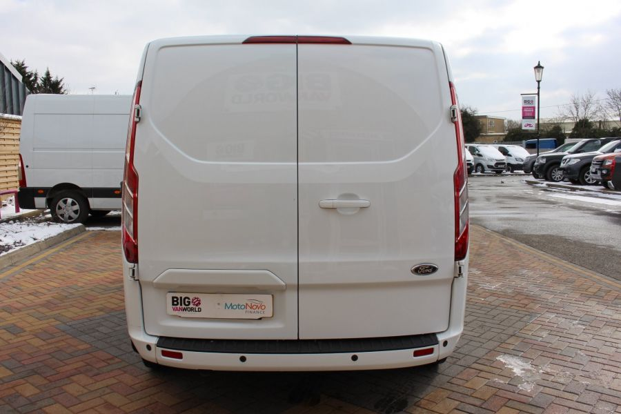 FORD TRANSIT CUSTOM 270 TDCI 125 L1 H1 LIMITED SWB LOW ROOF FWD - 7475 - 6