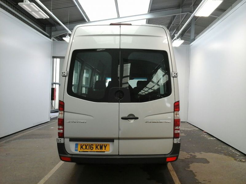 MERCEDES SPRINTER 313 CDI 129 BLUETEC TRAVELINER TL9 LWB 9 SEAT BUS HIGH ROOF - 9618 - 3