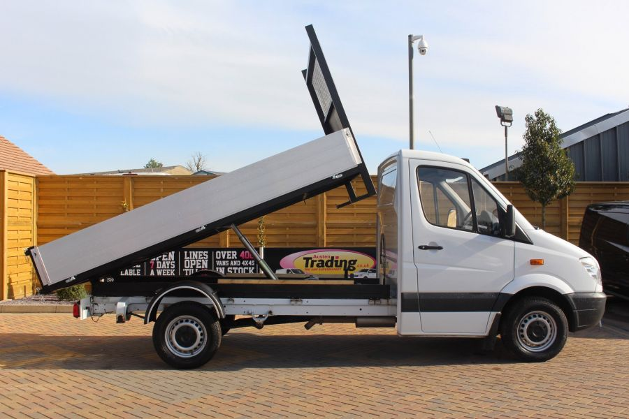 MERCEDES SPRINTER 313 CDI MWB SINGLE CAB ALLOY TIPPER - 6105 - 2