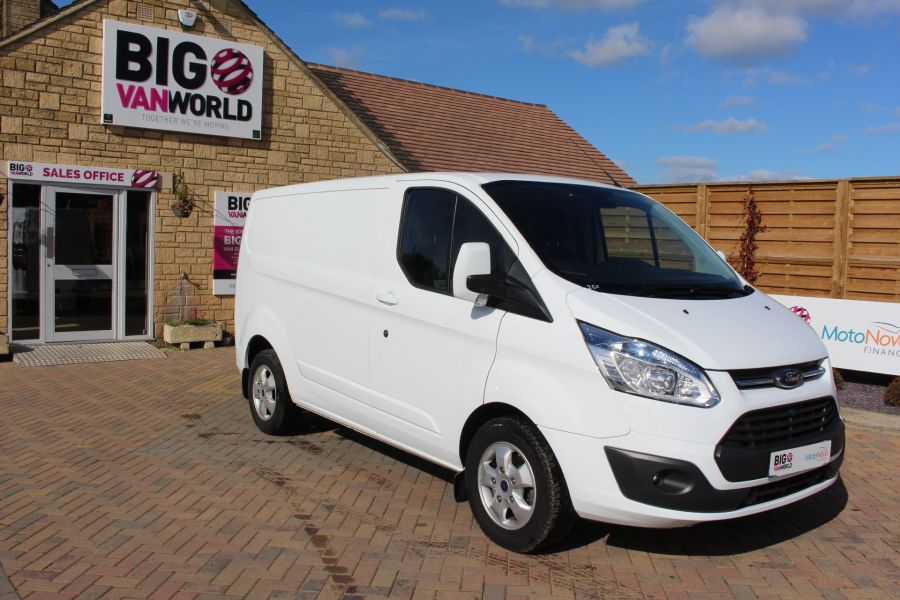 FORD TRANSIT CUSTOM 270 TDCI 125 L1 H1 LIMITED SWB LOW ROOF FWD - 6799 - 2