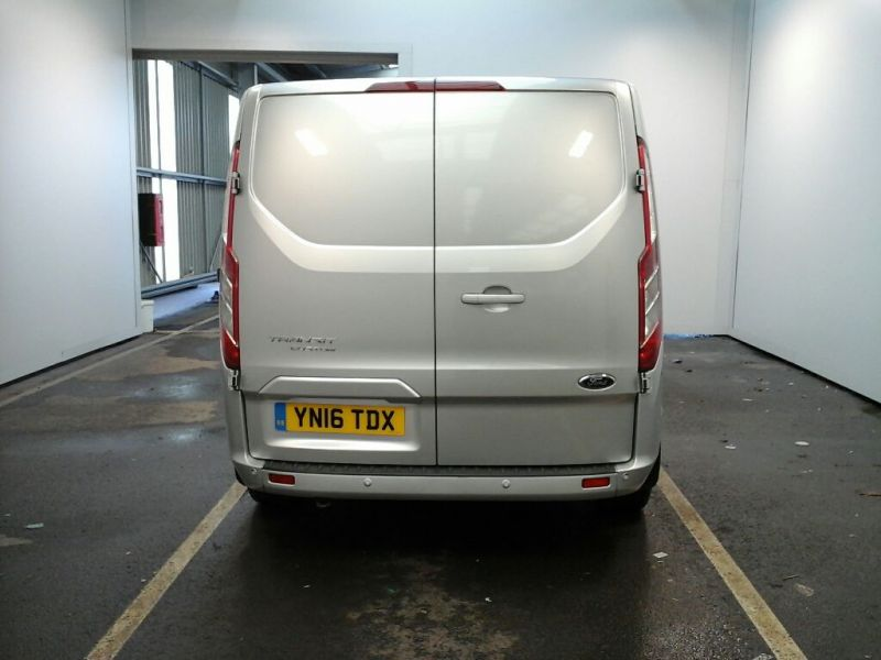 FORD TRANSIT CUSTOM 270 TDCI 125 L1 H1 LIMITED SWB LOW ROOF FWD - 9210 - 3