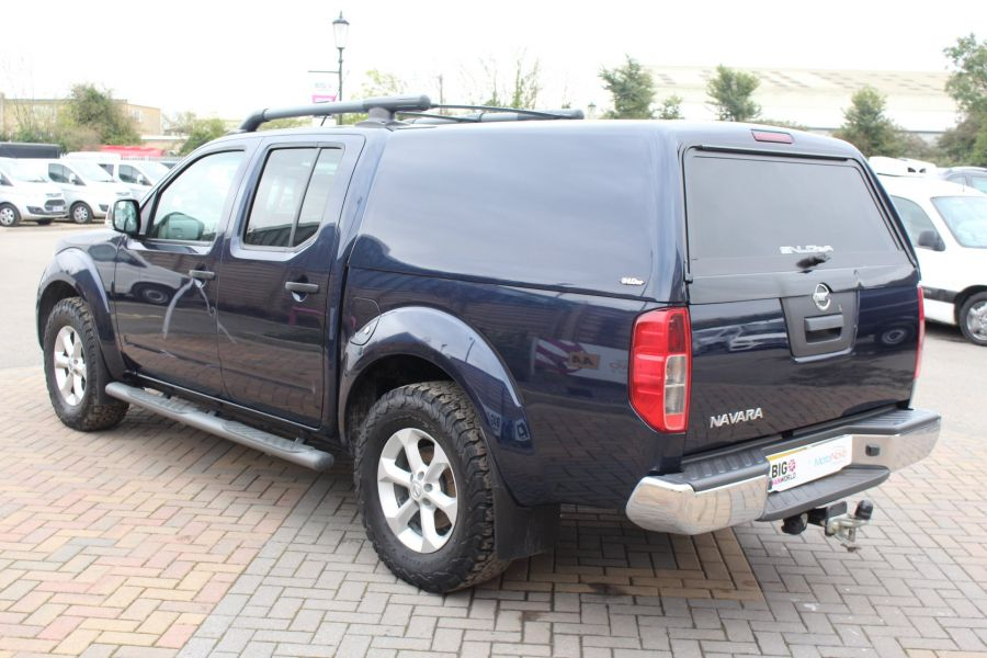 NISSAN NAVARA DCI 190 TEKNA CONNECT 4X4 DOUBLE CAB WITH TRUCKMAN TOP - 6786 - 7