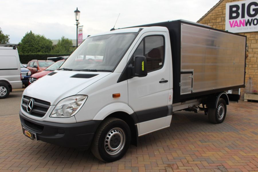 MERCEDES SPRINTER 313 CDI MWB NEW ALLOY ARBORIST TIPPER - 6031 - 14