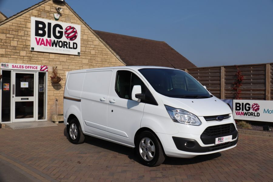 FORD TRANSIT CUSTOM 340 TDCI 130 L1H1 LIMITED SWB LOW ROOF FWD - 10566 - 3