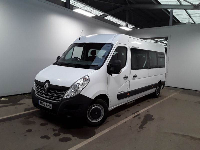 RENAULT MASTER LM39 DCI 150 BUSINESS LWB 17 SEAT BUS MEDIUM ROOF WITH OVERHEAD STORAGE - 11707 - 1