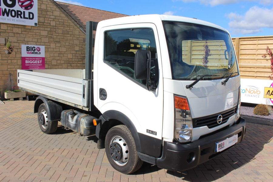 NISSAN CABSTAR 34.12 DCI 121 SWB ALLOY DROPSIDE - 6795 - 3