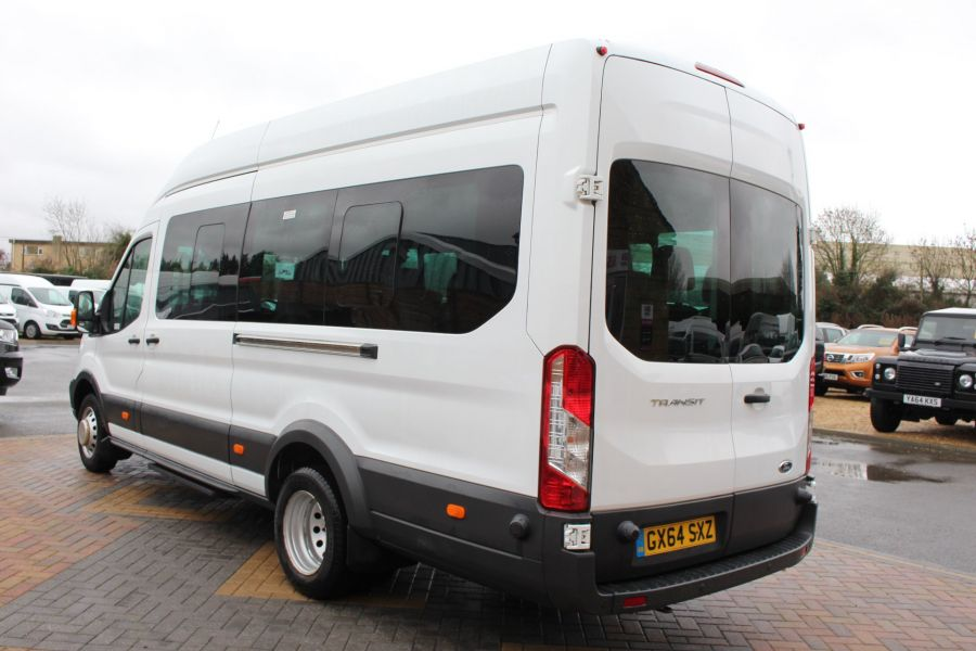 FORD TRANSIT 460 TDCI 125 L4 H3 TREND 17 SEAT BUS HIGH ROOF DRW RWD - 8462 - 6
