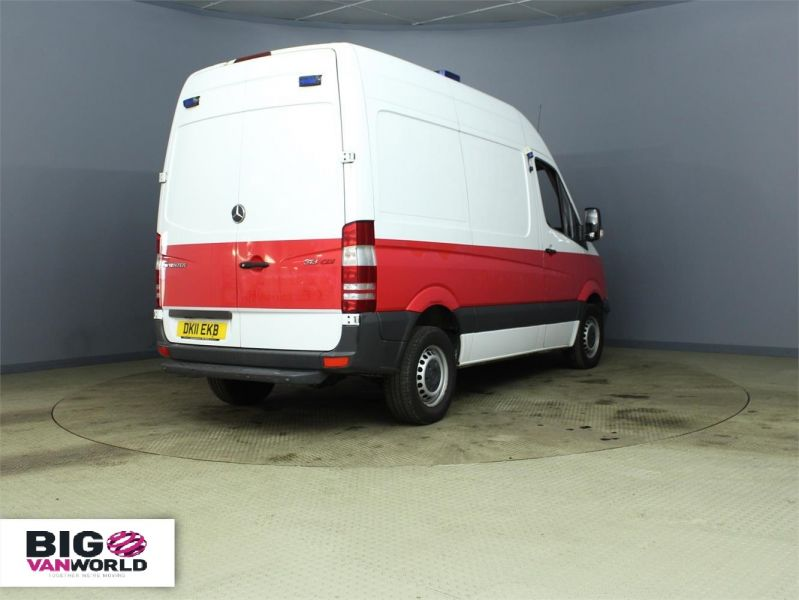 MERCEDES SPRINTER 313 CDI MWB HIGH ROOF FRIDGE WITH OVERNIGHT - 7388 - 2