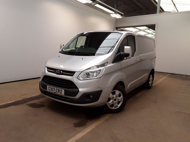 FORD TRANSIT CUSTOM 270 TDCI 130 L1H1 LIMITED SWB LOW ROOF FWD - 11118 - 1