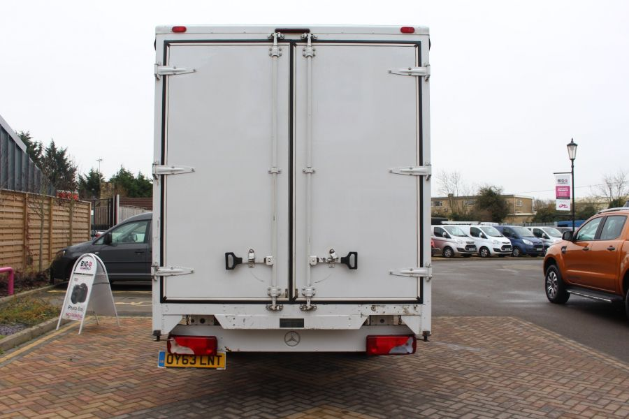 MERCEDES SPRINTER 313 CDI LWB 17FT CURTAIN SIDE BOX - 7006 - 6