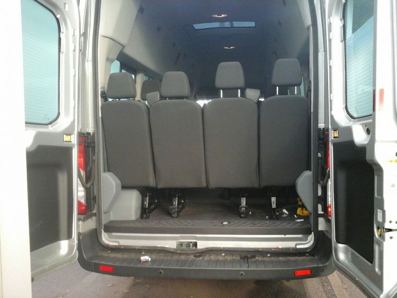 FORD TRANSIT 460 TDCI 155 L4 H3 TREND 17 SEAT BUS HIGH ROOF DRW RWD - 8604 - 4