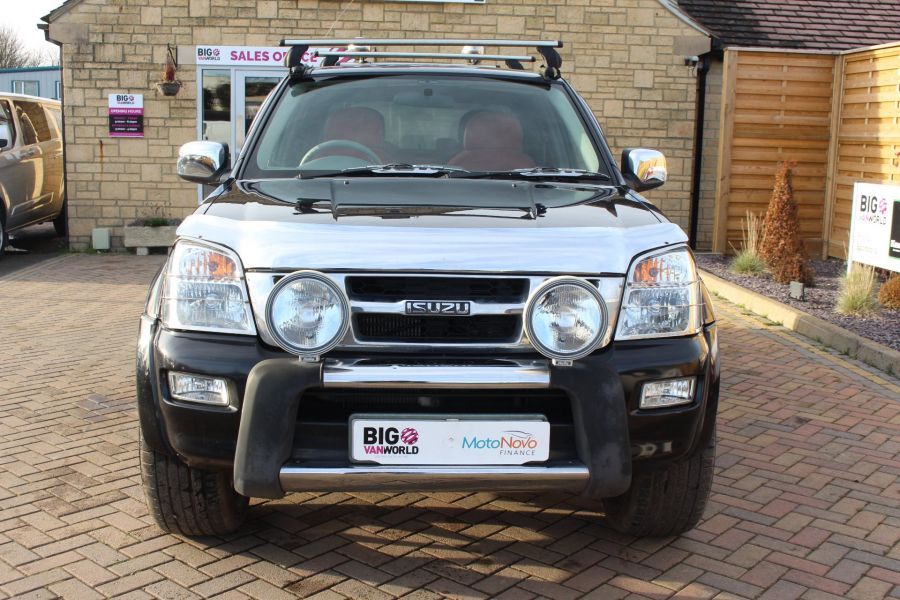 ISUZU RODEO DENVER MAX TD 131 4X4 INTERCOOLER DOUBLE CAB WITH TRUCKMAN TOP - 7453 - 9