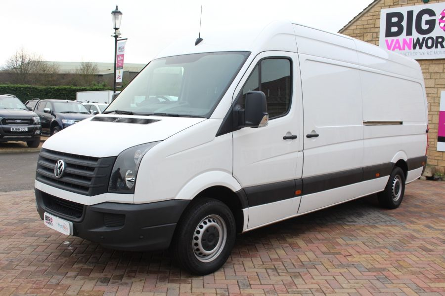 VOLKSWAGEN CRAFTER CR35 TDI 136 LWB HIGH ROOF - 6890 - 8