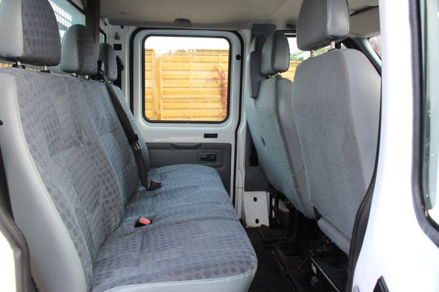 FORD TRANSIT 350 TDCI 125 LWB DOUBLE CAB 'ONE STOP' ALLOY DROPSIDE DRW RWD - 6761 - 18
