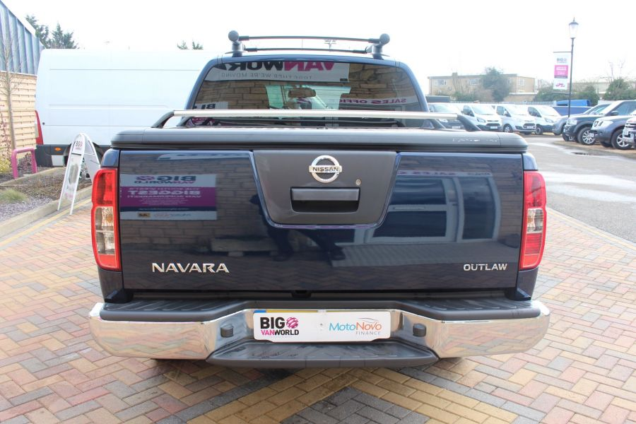 NISSAN NAVARA OUTLAW DCI 231 4X4 DOUBLE CAB WITH MOUNTAIN TOP - 7465 - 6