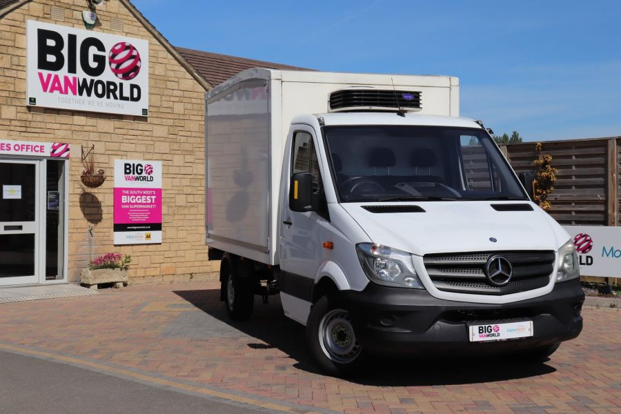 MERCEDES SPRINTER 313 CDI 129 MWB FRIDGE BOX - 10964 - 1