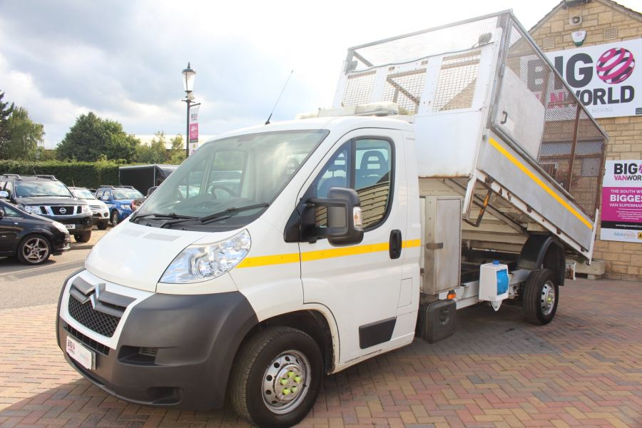 CITROEN RELAY 35 HDI 130 L3 LWB ALLOY TIPPER WITH CAGED - 8122 - 7