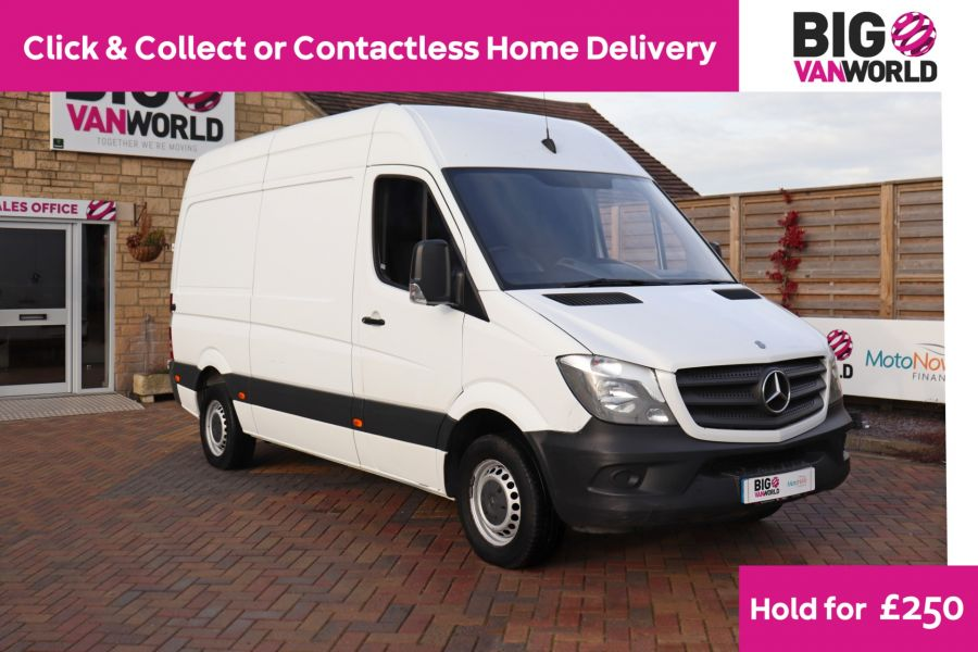 MERCEDES SPRINTER 314 CDI 140 MWB HIGH ROOF - 12097 - 1