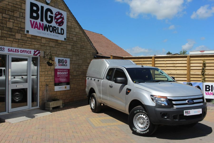 FORD RANGER XL 4X4 TDCI 150 SUPER CAB WITH TRUCKMAN TOP - 6276 - 1