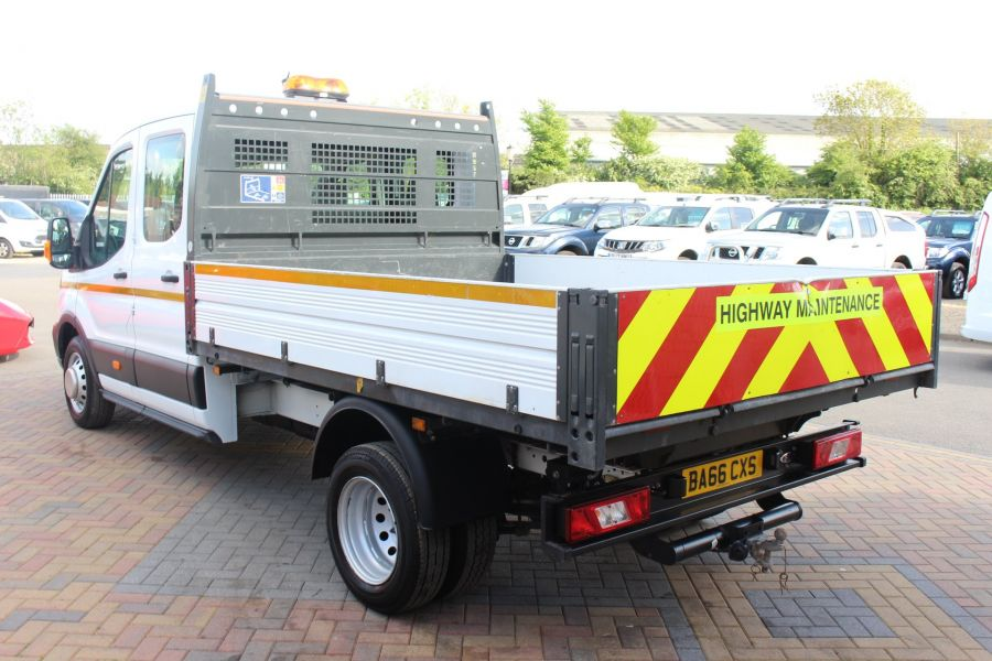 FORD TRANSIT 350 TDCI 130 L3 LWB 7 SEAT DOUBLE CAB 'ONE STOP' ALLOY TIPPER DRW RWD - 7634 - 15