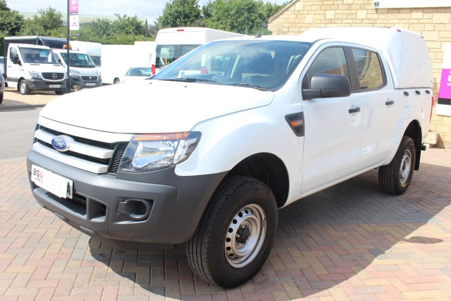 FORD RANGER TDCI 130 XL 4X4 DOUBLE CAB WITH TRUCKMAN TOP - 8119 - 8