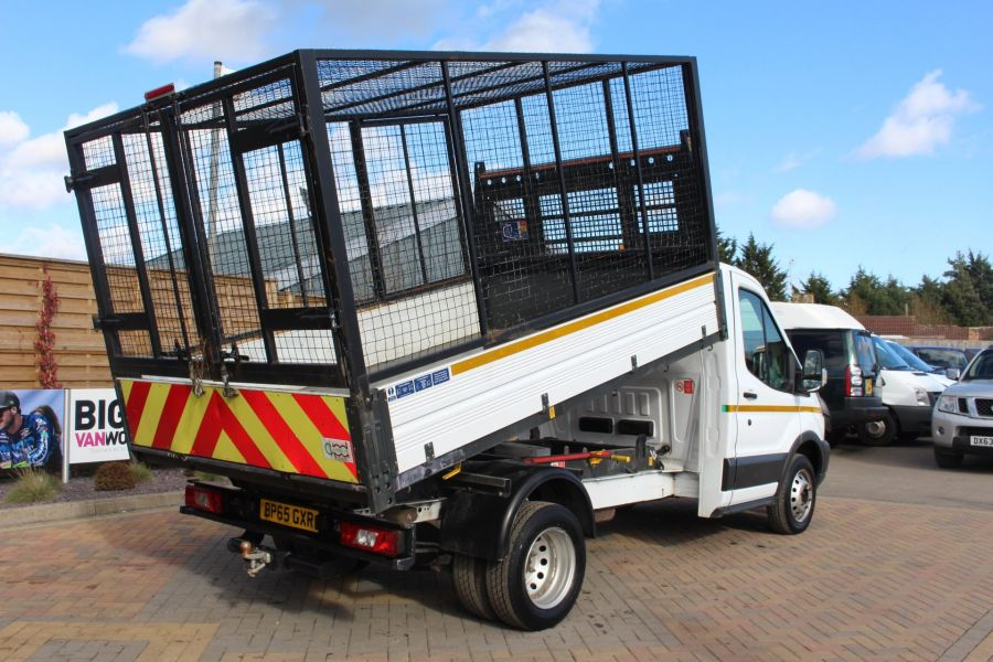 FORD TRANSIT 350 TDCI 125 SINGLE CAB 'ONE STOP' CAGED TIPPER DRW RWD - 7297 - 4