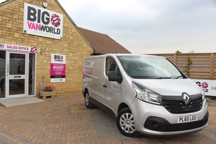 RENAULT TRAFIC SL27 DCI 120 BUSINESS PLUS ENERGY SWB LOW ROOF - 9258 - 1