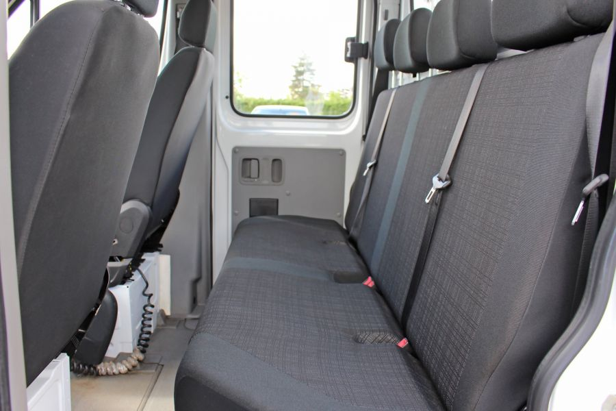 MERCEDES SPRINTER 314 CDI 140 DOUBLE CAB 6 SEAT CAGED ALLOY TIPPER - 9302 - 28