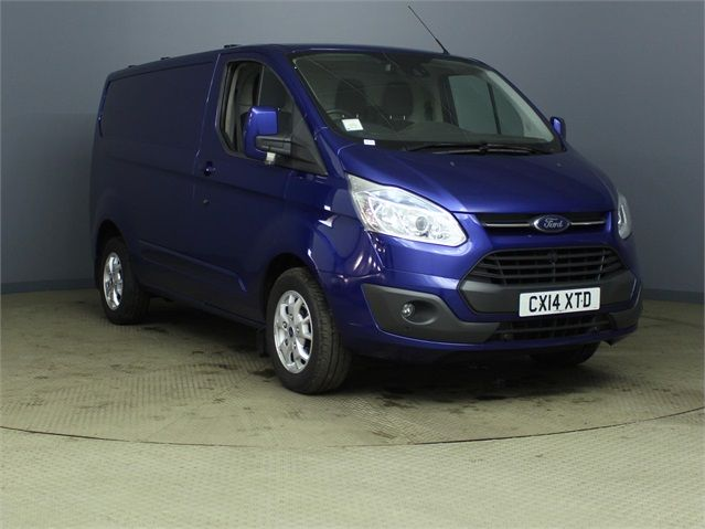 FORD TRANSIT CUSTOM 270 TDCI 155 LIMITED L1 H1 SWB LOW ROOF FWD - 6586 - 1