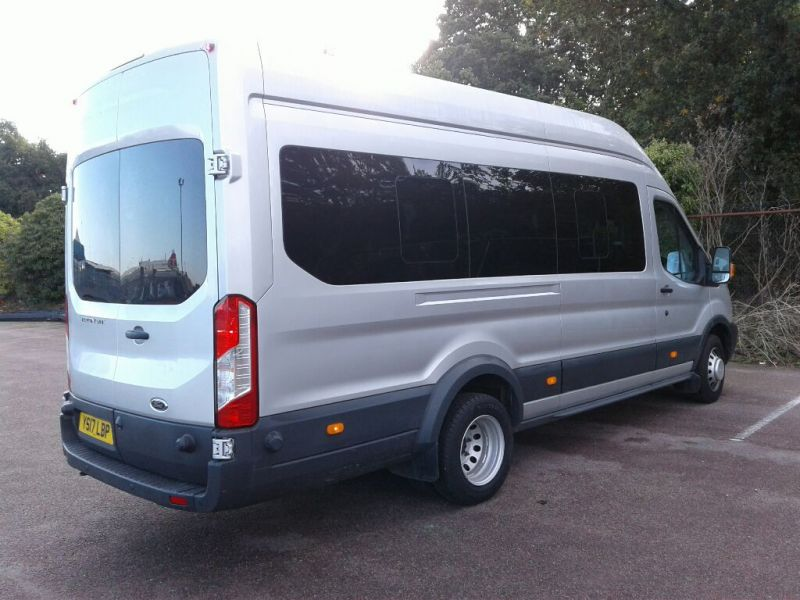 FORD TRANSIT 460 TDCI 155 L4H3 TREND 17 SEAT BUS HIGH ROOF DRW RWD - 10038 - 2