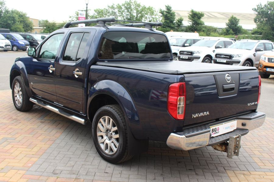 NISSAN NAVARA OUTLAW DCI 231 4X4 DOUBLE CAB WITH TONNEAU COVER - 7877 - 7