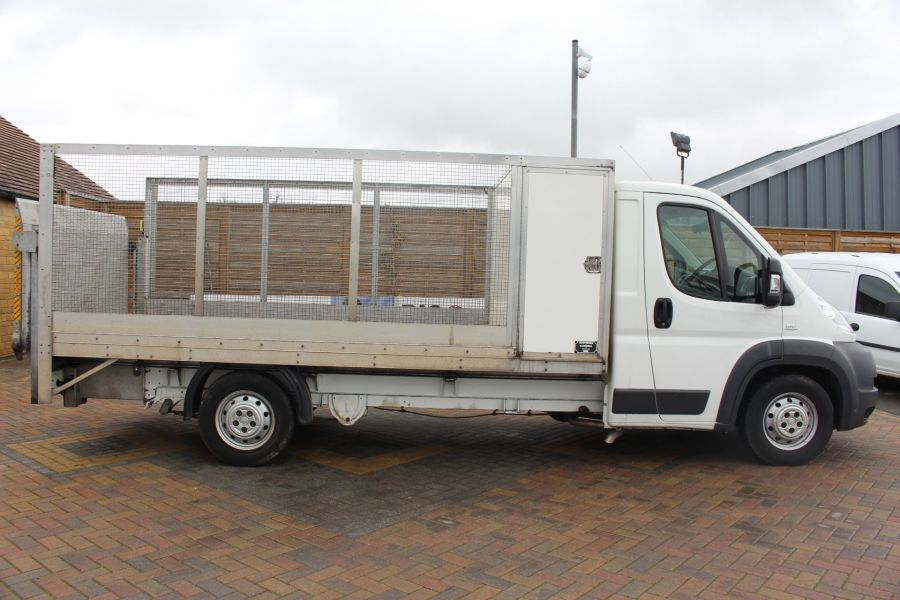 FIAT DUCATO 35 MAXI MULTIJET 130 13.5 FT ALLOY CAGED DROPSIDE WITH TAIL LIFT - 8868 - 4
