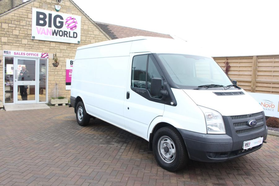 FORD TRANSIT 350 TDCI 100 LWB MEDIUM ROOF FWD - 6683 - 2