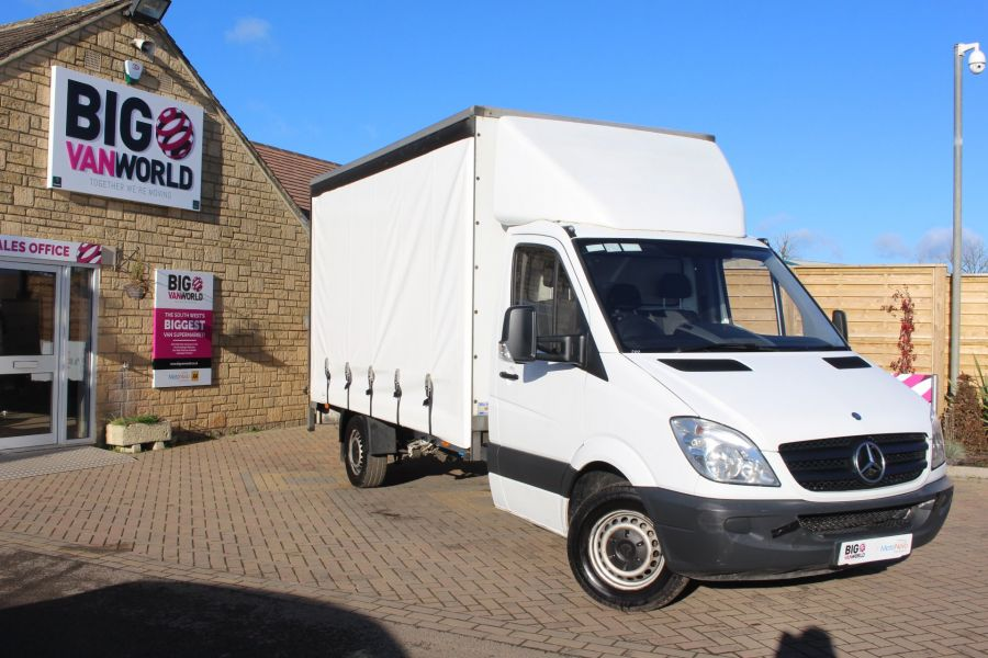 MERCEDES SPRINTER 313 CDI LWB CURTAIN SIDE BOX WITH TAIL LIFT - 6946 - 1