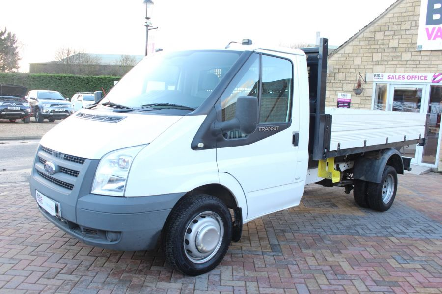 FORD TRANSIT 350 TDCI 100 MWB 'ONE STOP' ALLOY TIPPER DRW RWD - 6726 - 17