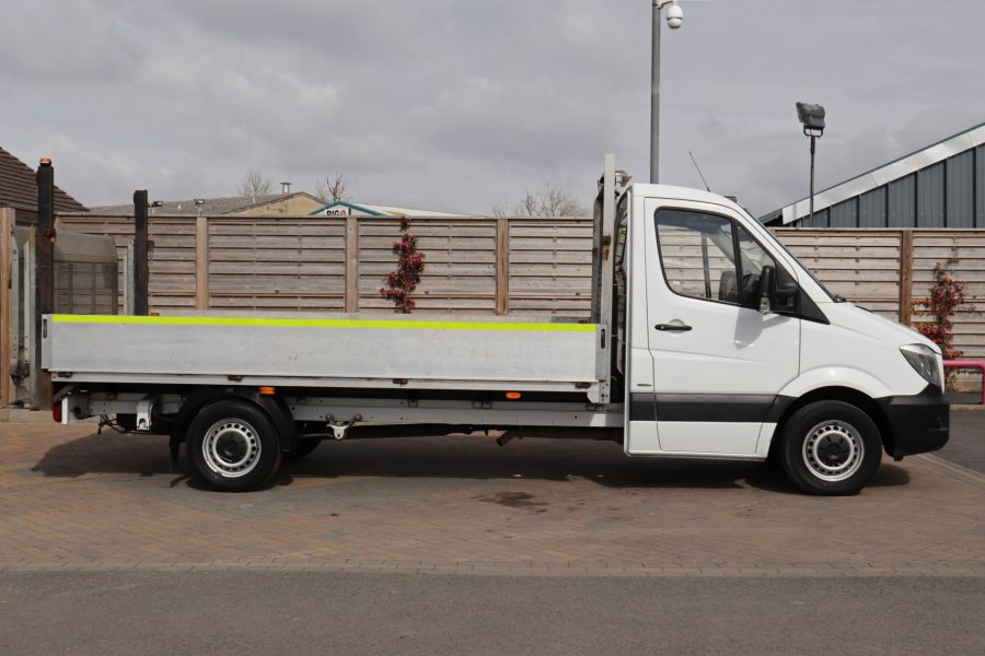 MERCEDES SPRINTER 314 CDI 140 LWB SINGLE CAB ALLOY DROPSIDE WITH TAIL LIFT  (14002) - 12361 - 7