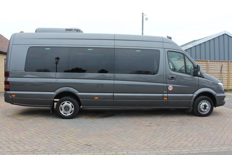MERCEDES SPRINTER 516 TRAVEL 45 XLWB 16 SEAT SINGLE DECK COACH - 8762 - 3