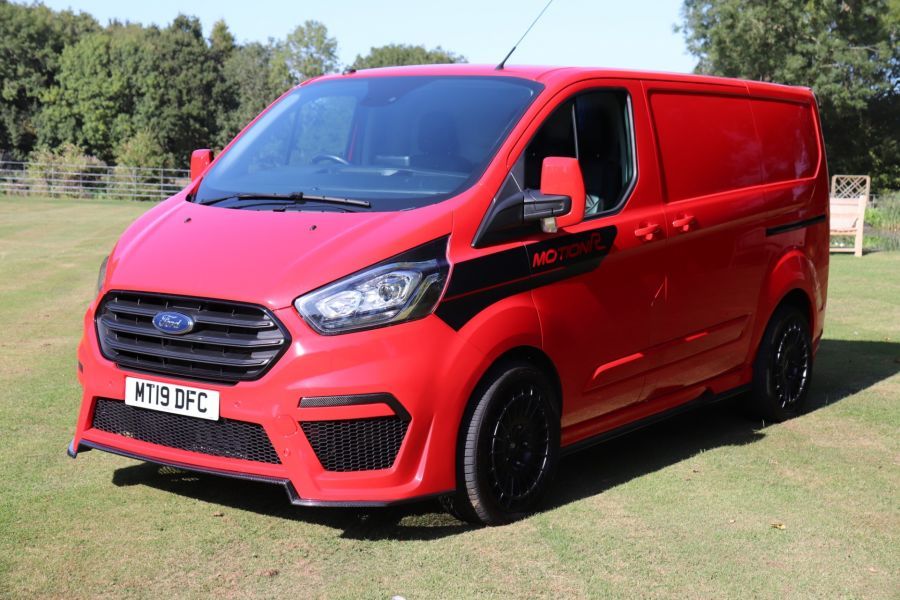 FORD TRANSIT CUSTOM 280 TDCI 130 L1H1 MOTION R LIMITED EDITION - 9983 - 7