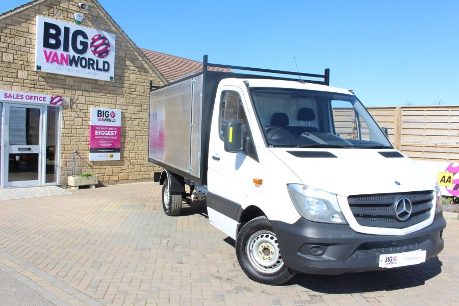 MERCEDES SPRINTER 313 CDI 129 MWB SINGLE CAB NEW BUILD ARBORIST ALLOY TIPPER - 9307 - 10