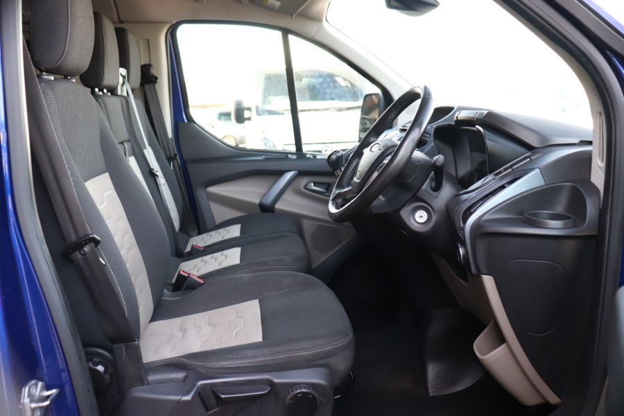 FORD TRANSIT CUSTOM 310 TDCI 130 L1H1 LIMITED DOUBLE CAB 6 SEAT CREW VAN FWD - 10553 - 13