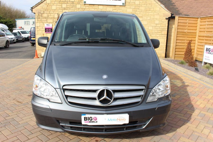 MERCEDES VITO 116 CDI 163 DUALINER COMPACT SPORT SPECIAL EDITION 5 SEAT CREW VAN - 7444 - 9