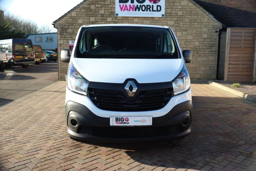 RENAULT TRAFIC SL27 DCI 115 BUSINESS SWB DOUBLE CAB 6 SEAT CREW VAN LOW ROOF  - 10282 - 10