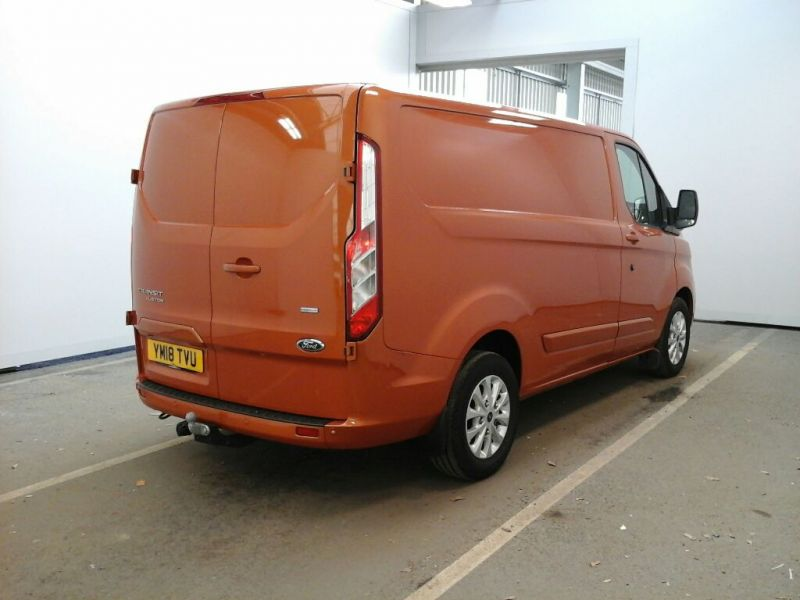 FORD TRANSIT CUSTOM 280 TDCI 130 L1 H1 LIMITED SWB LOW ROOF FWD - 9411 - 2