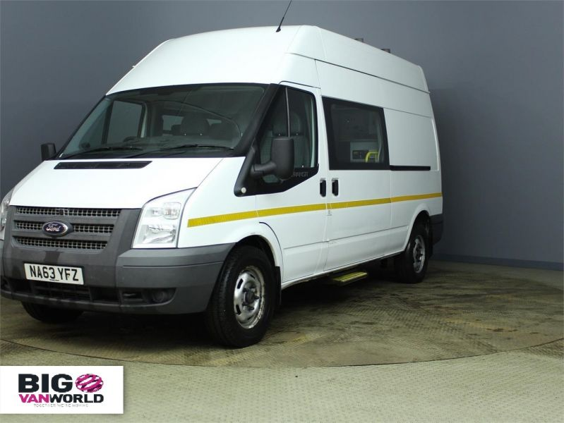 FORD TRANSIT 350 TDCI 100 LWB HIGH ROOF 7 SEAT MESSING UNIT - 7251 - 5