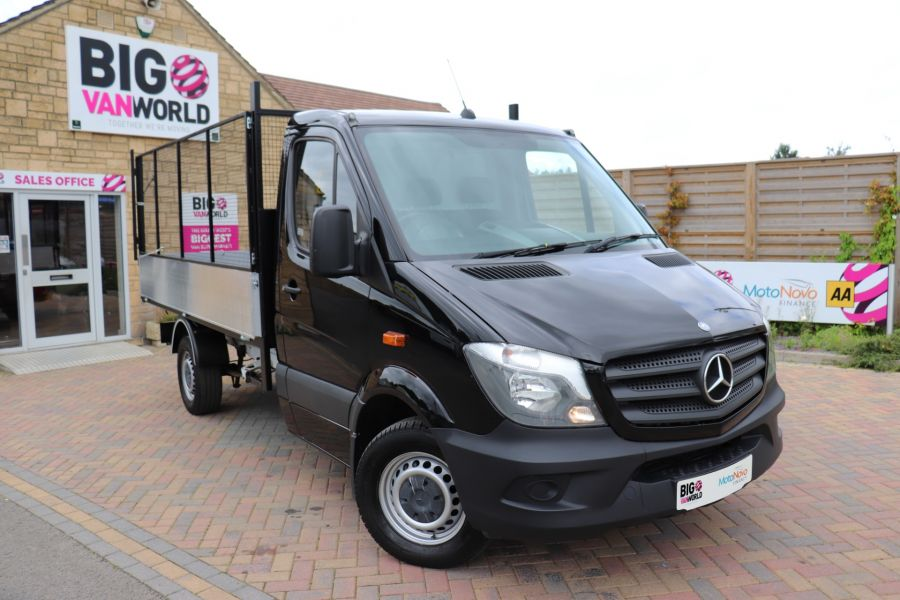MERCEDES SPRINTER 313 CDI 129 MWD SINGLE CAB NEW BUILD ALLOY CAGED TIPPER - 10235 - 2