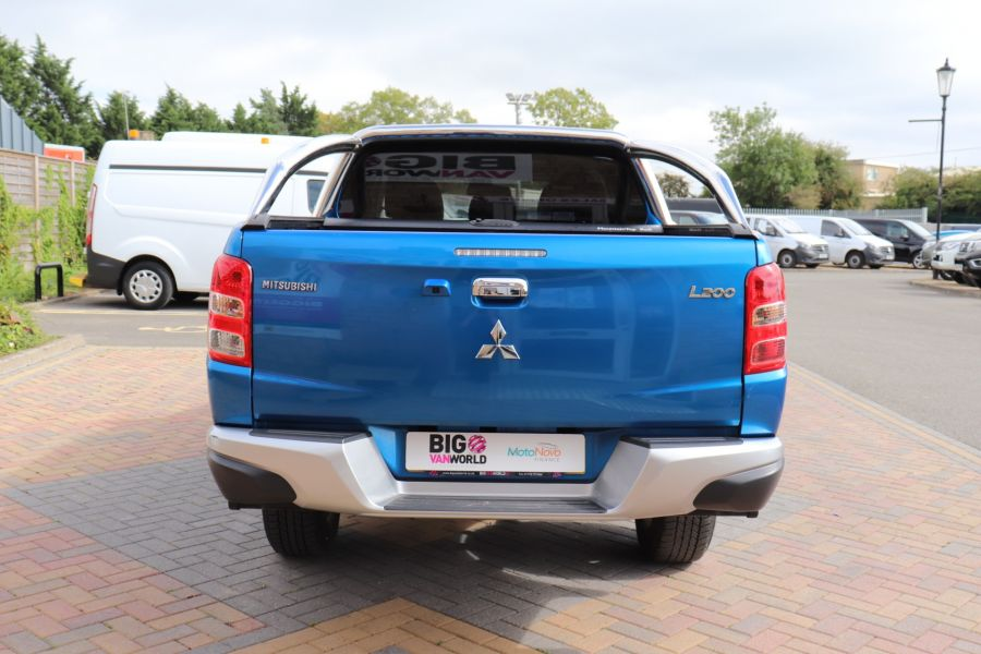 MITSUBISHI L200 DI-D 178 4WD WARRIOR DOUBLE CAB WITH ROLL'N'LOCK TOP - 11123 - 7